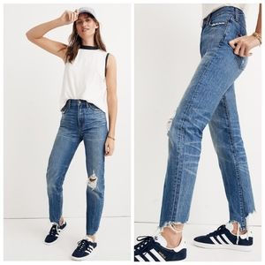 Madewell Destructed Perfect Summer Jean size 26